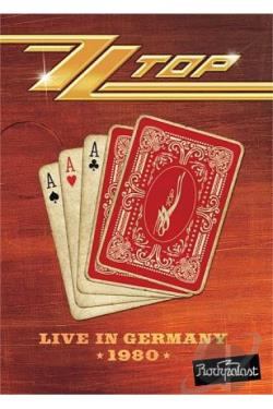 ZZ Top: Live in Germany 1980 DVD Cover Art