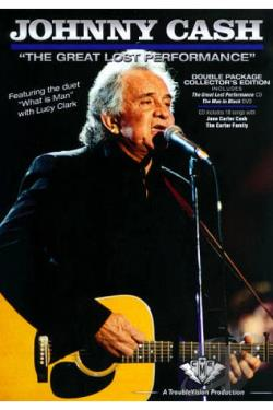Johnny Cash: The Great Lost Performance DVD Cover Art