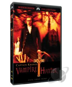 Captain Kronos: Vampire Hunter DVD Cover Art