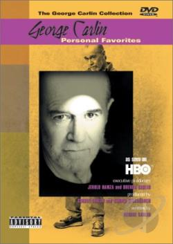George Carlin - Personal Favorites DVD Cover Art