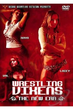 Wrestling Vixens - The New Era DVD Cover Art