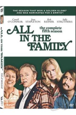 All in the Family - The Complete Fifth Season DVD Cover Art
