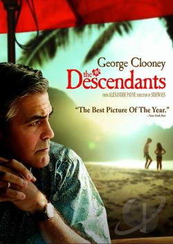 Descendants DVD Cover Art