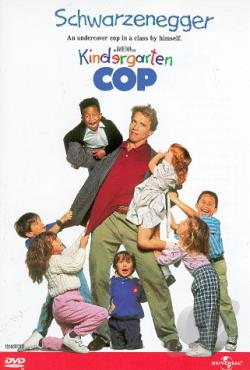 Kindergarten Cop DVD Cover Art