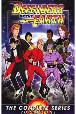 Defenders of the Earth - The Complete Series: Vol. 1 DVD Cover Art
