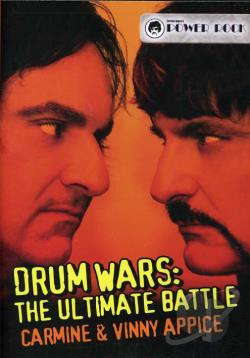 Carmine & Vinny Appice - Drum Wars: The Ultimate Battle DVD Cover Art