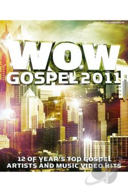 WOW Gospel 2011 DVD Cover Art