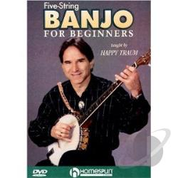 Five-String Banjo for Beginners DVD Cover Art
