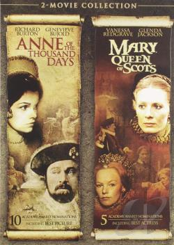 Anne of the Thousand Days/Mary, Queen of Scots DVD Cover Art