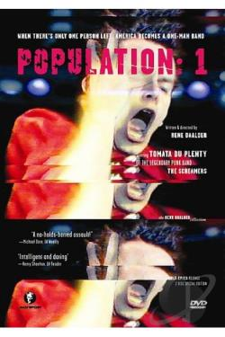 Population: 1 DVD Cover Art