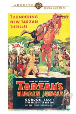 Tarzan's Hidden Jungle DVD Cover Art
