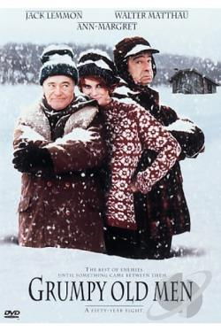 Grumpy Old Men DVD Cover Art