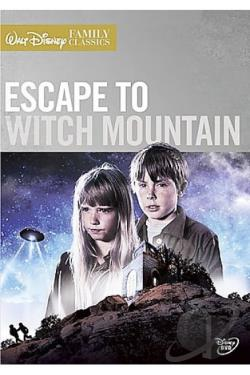 Escape to Witch Mountain DVD Cover Art