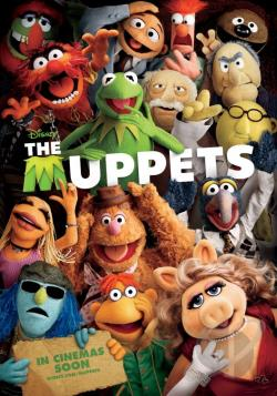 Muppets DVD Cover Art