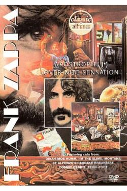 Frank Zappa - Apostrophe (')/Over-Nite Sensation DVD Cover Art