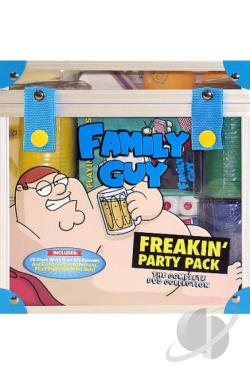 Family Guy - Freakin' Party Pack DVD Cover Art