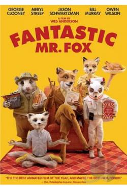 Fantastic Mr. Fox DVD Cover Art
