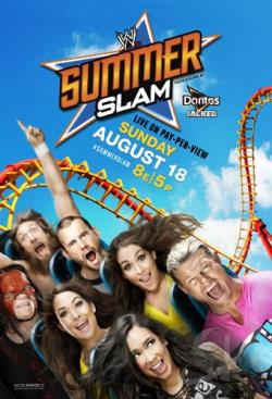 WWE: Summerslam 2013 DVD Cover Art