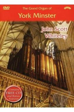 Grand Organ of York Minster DVD Cover Art