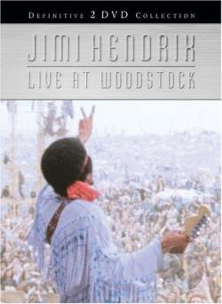 Jimi Hendrix - Live At Woodstock DVD Cover Art