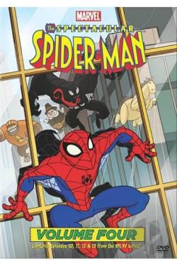 Spectacular Spider - Man: Vol. 4 DVD Cover Art