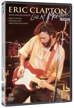 Eric Clapton - Live at Montreux 1986 BRAY Cover Art