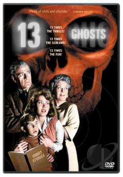 13 Ghosts DVD Cover Art