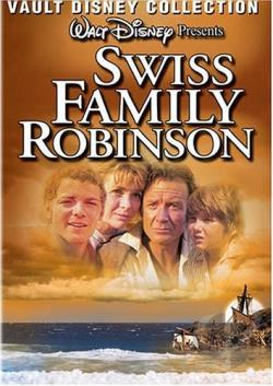 Swiss Family Robinson DVD Cover Art