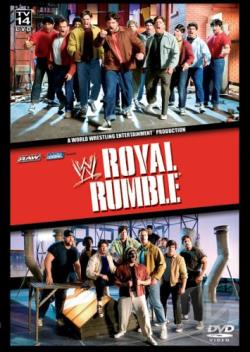 WWE - Royal Rumble 2005 DVD Cover Art