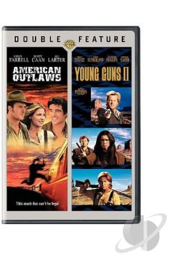 American Outlaws/Young Guns 2 DVD Cover Art
