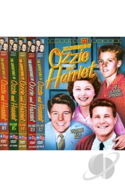 Adventures of Ozzie and Harriet, Vols. 12-16 DVD Cover Art