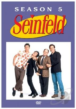 Seinfeld - The Complete Fifth Season DVD Cover Art