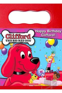 Clifford the Big Red Dog - Happy Birthday Clifford DVD Cover Art