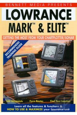 Lowrance Mark and Elite Series DVD Cover Art