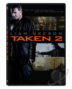 Taken 2 DVD Cover Art