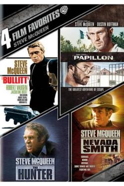 Steve McQueen: 4 Film Favorites DVD Cover Art