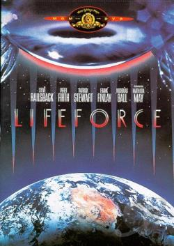 Lifeforce DVD Cover Art