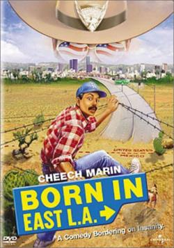 Born in East L.A. DVD Cover Art