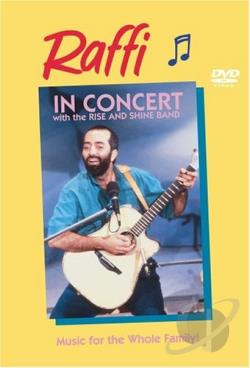 Raffi in Concert With the Rise and Shine Band DVD Cover Art