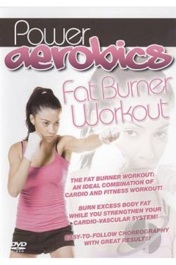 Power Aerobics: Fat Burner Workout DVD Cover Art