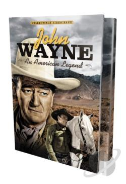 John Wayne: An American Legend DVD Cover Art