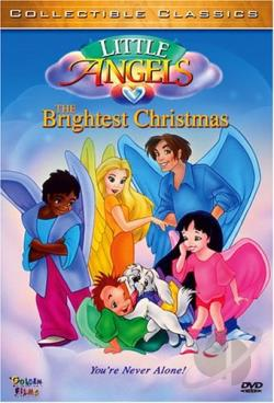 Littlest Angels: Brightest Christmas DVD Cover Art
