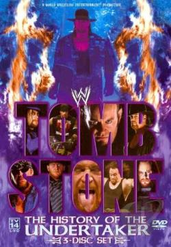 WWE - Tombstone: The History of the Undertaker DVD Cover Art