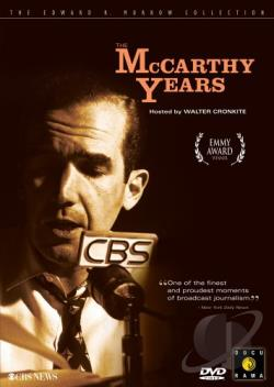 McCarthy Years DVD Cover Art