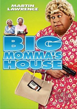 Big Momma's House DVD Cover Art