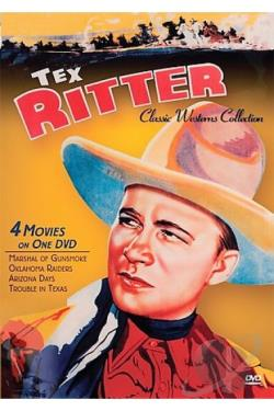 Classic Westerns - Tex Ritter Four Feature DVD Cover Art
