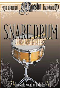 Beginning Snare Drum DVD Cover Art