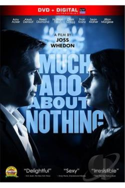 Much Ado About Nothing DVD Cover Art