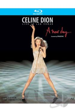 Celine Dion - Live in Las Vegas: A New Day... BRAY Cover Art