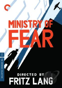 Ministry of Fear DVD Cover Art